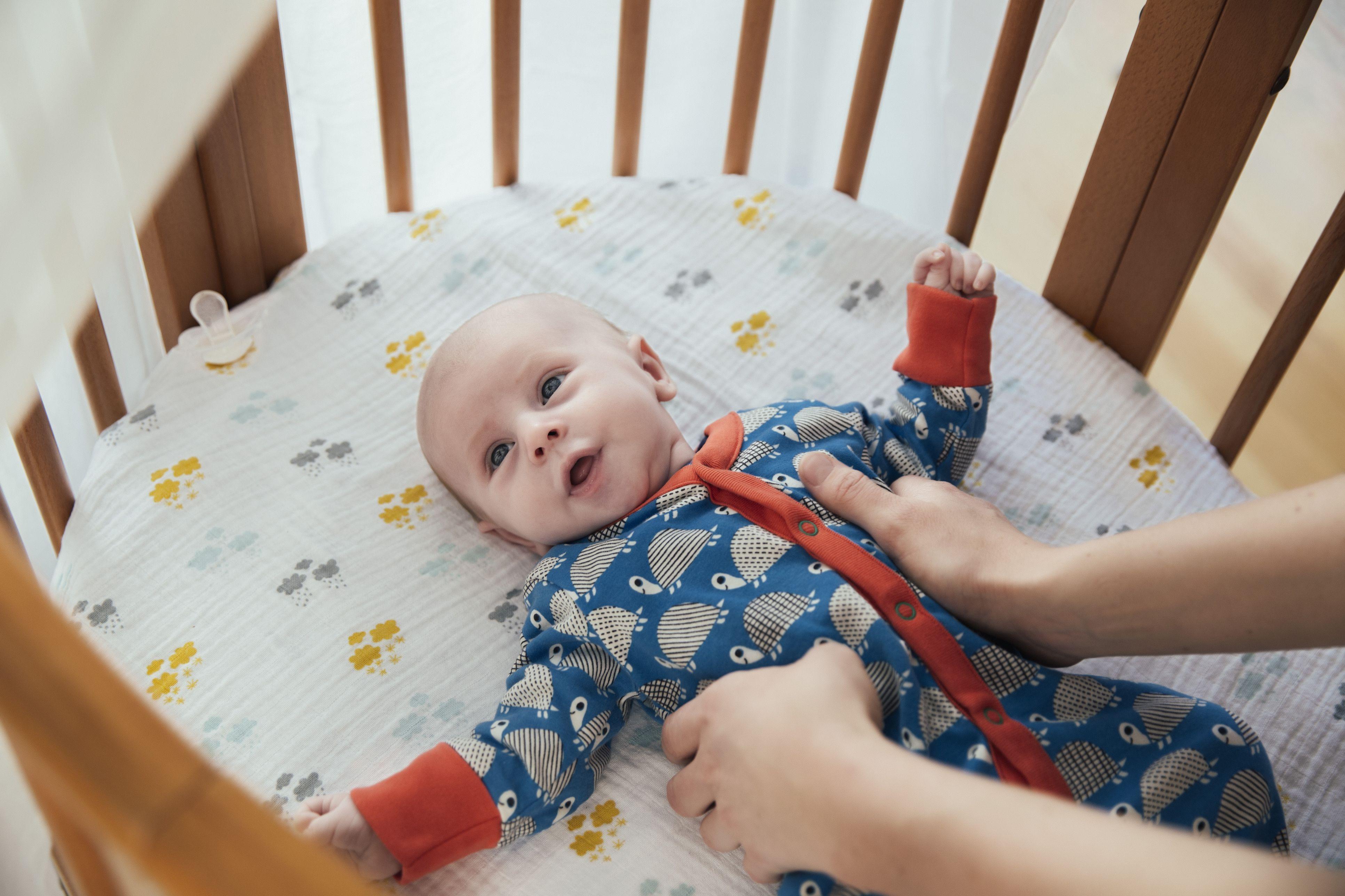 Getting Newborn To Sleep In Bassinet