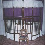 Corner Cribs for twins