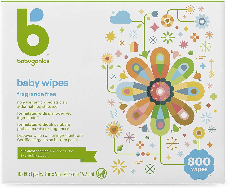 Babyganics Diaper Wipes