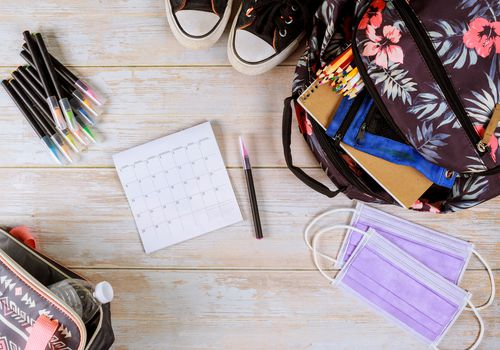 back to school supplies for the 2020–2021 school year