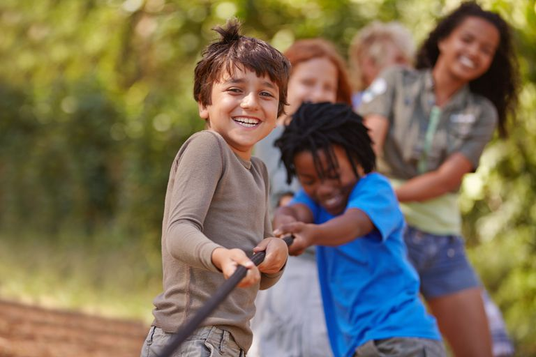 A group of kids in a tug-of-war game Premium Access XSSML 2122 x 1415 px   7.07 x 4.72 in @ 300 dpi   3.0 MP Size Guide Add notes DOWNLOAD AGAIN Details Credit: PeopleImages Creative #: 481495699 License type: Royalty-free Collection: DigitalVision Release info: Model and property released Same seriesView all