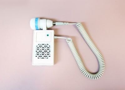 This is a device used to listen to your baby's heart beat in pregnancy.