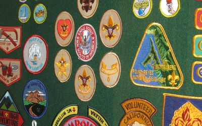 Merit Badge Placement On The Sash