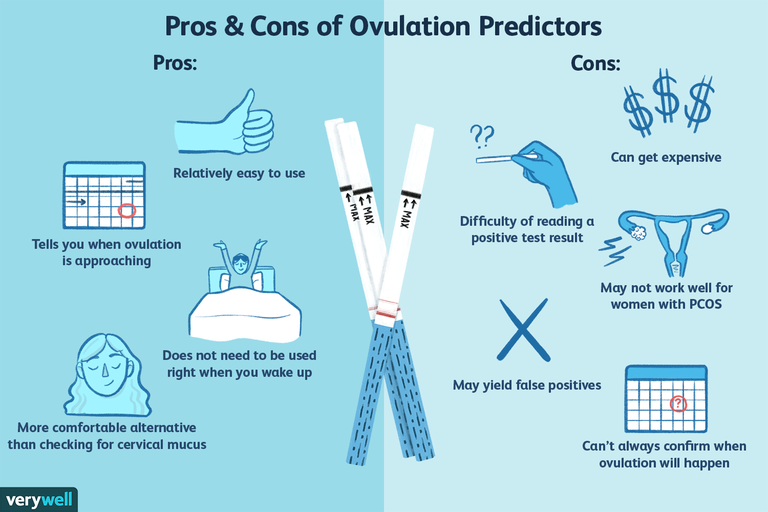 Pros and cons of ovulation predictors