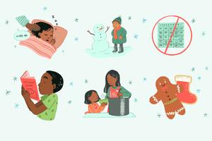 Holiday stress in children