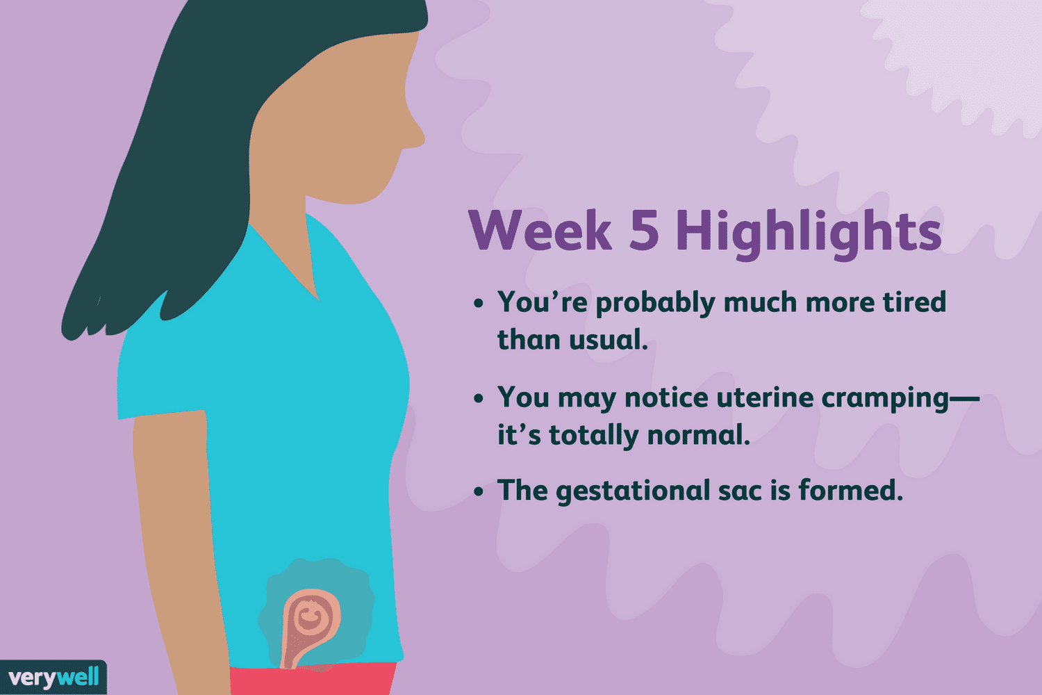 5 Weeks Pregnant: Symptoms, Baby Development, and More