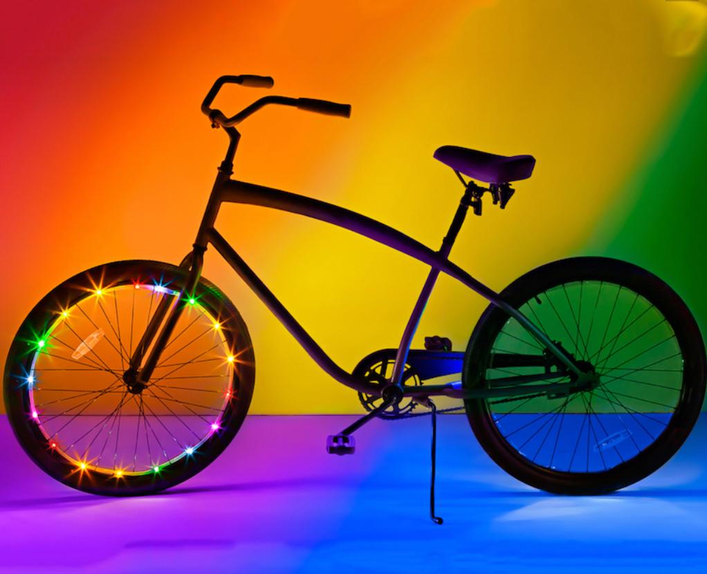 Fat Brain Toys Wheel Brightz Bike Lights