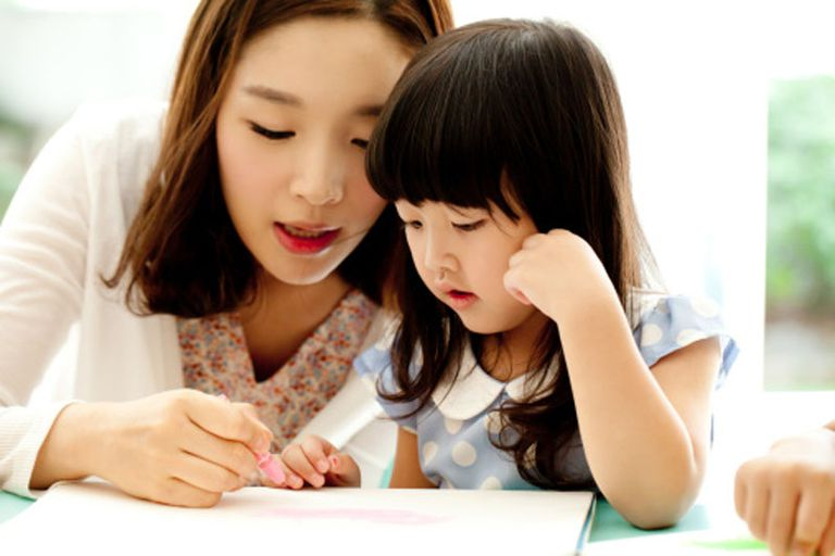 Child Learning to Draw Like a Pro
