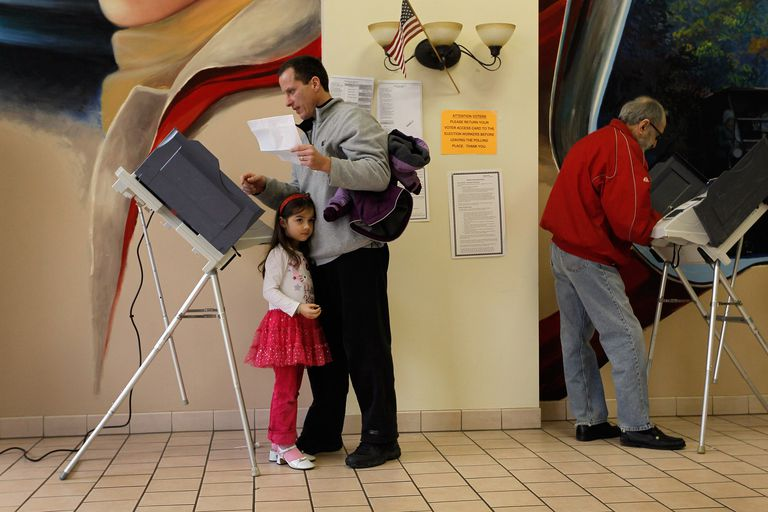 Father and Daughter Voting and Politics
