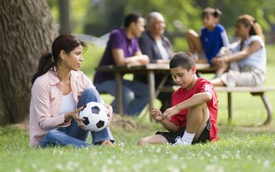 Talk to your child about the health benefits of not smoking.
