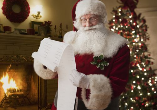 Don't threaten your child with being on Santa's naughty list.