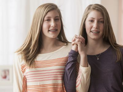 left-handed and right-handed twins
