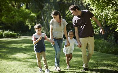 Parents may adopt an older child out of the foster care system.