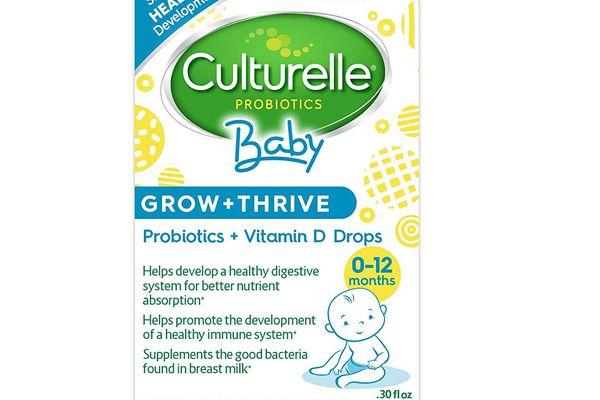 Culturelle Baby Grow + Thrive Probiotics + Vitamin D Drops