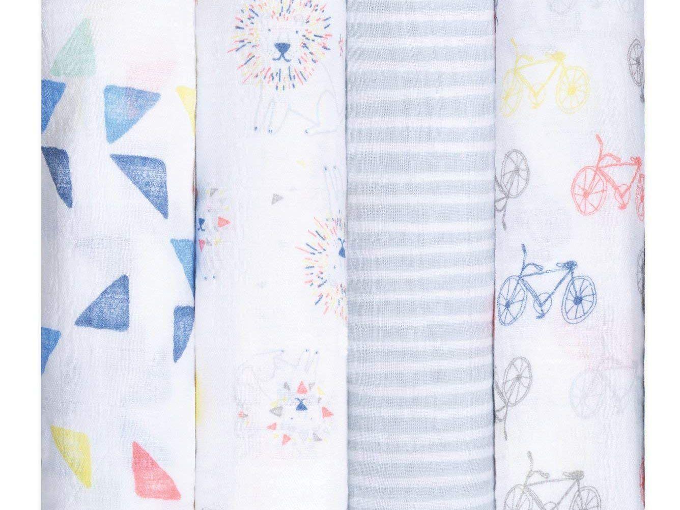 Ziyunlong Baby Blankets Knitted Soft Newborn Blanket for Pram//Travel//Moses Basket Beige Size 80 x 100cm