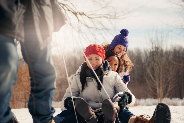 These fun winter activities are great for older kids and teens.