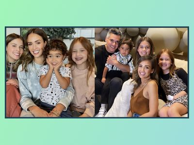 Jessica Alba and her family