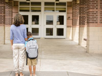 Anxiously attached kids may exhibit separation anxiety.
