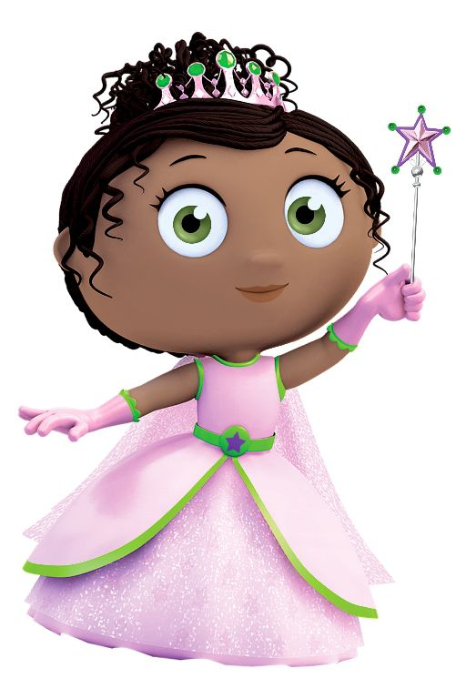 Princess Presto is a character on Super Why! on PBS KIDS.