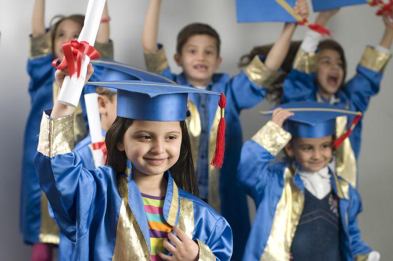 "Preschoolers ""graduating"""