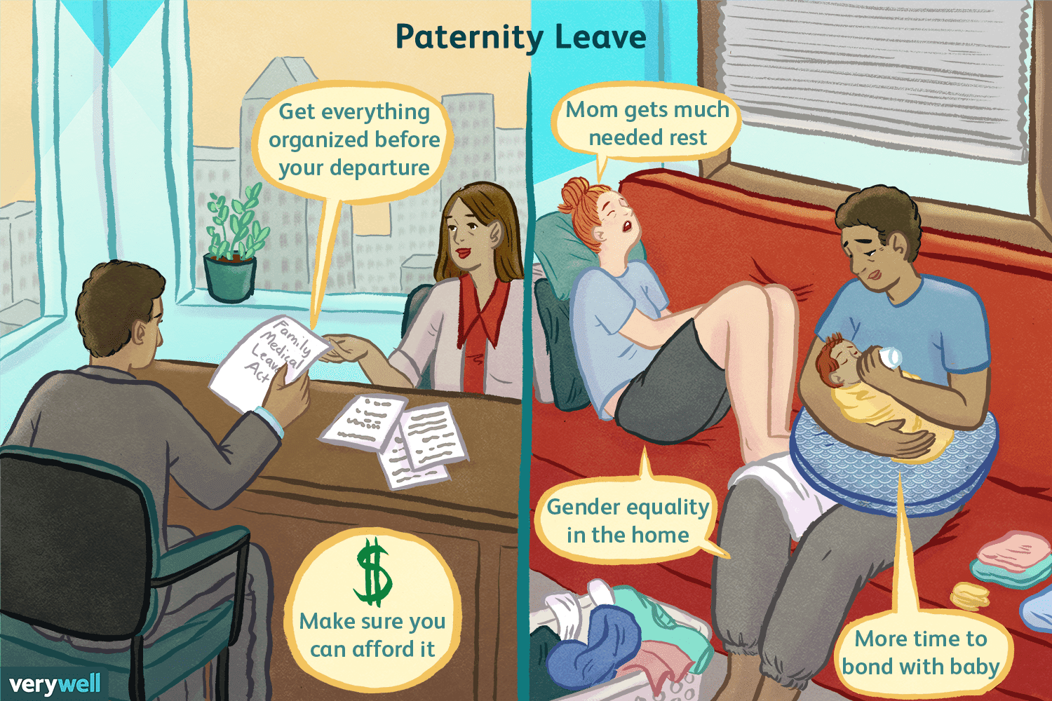 How Fathers Can Plan Their Paternity Leave