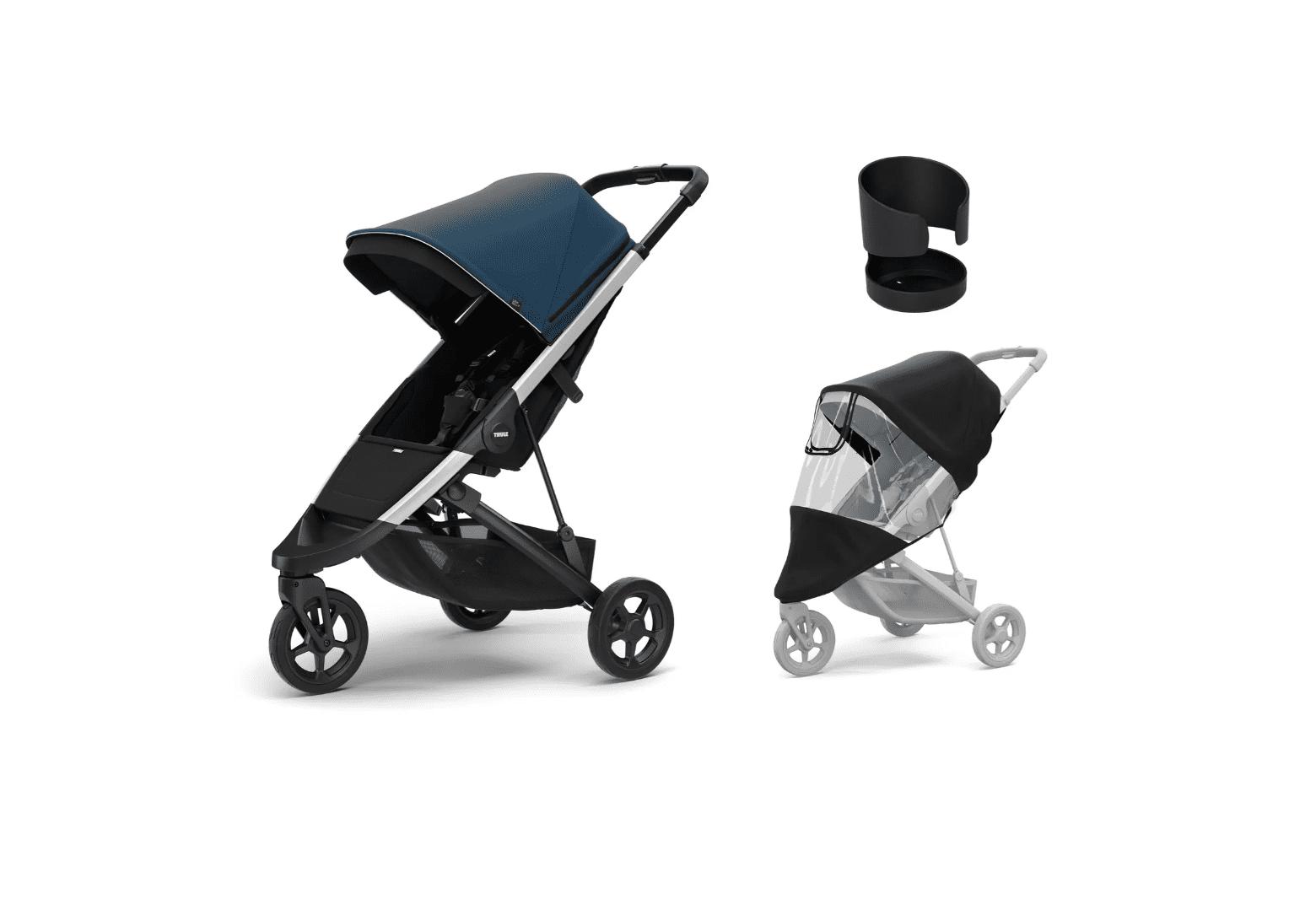 Thule Spring Stroller & Essentials Accessory Bundle