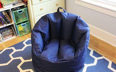 big joe milano bean bag chair