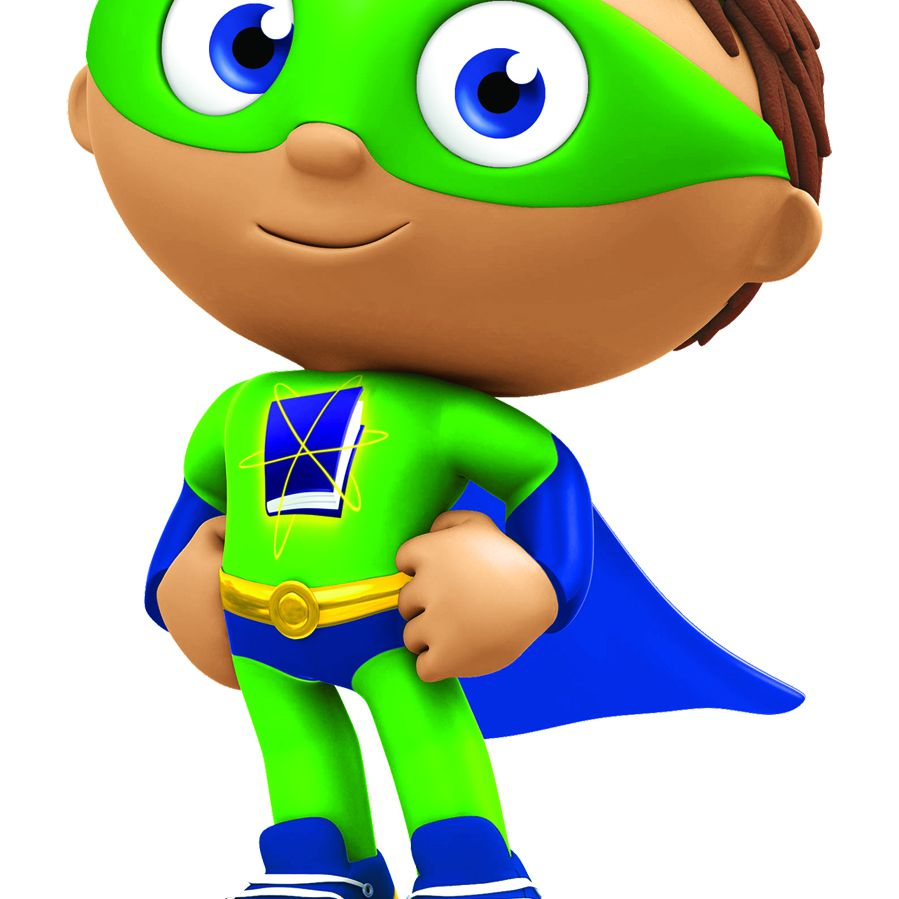Super Why von den PBS KIDS zeigt Super Why!