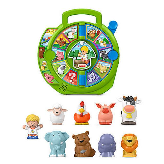 Fisher Price Little People Exploring Animals See 'N Say Gift Set