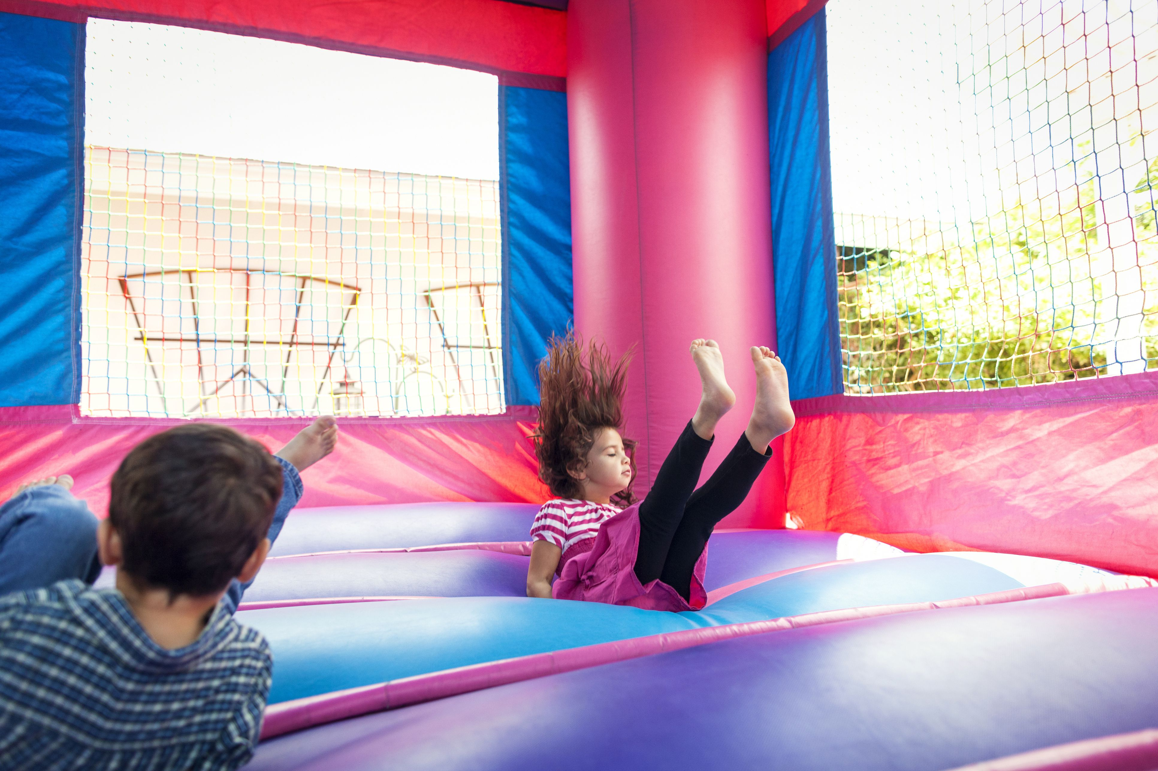 Non-Competitive Active Games for Kids' Parties
