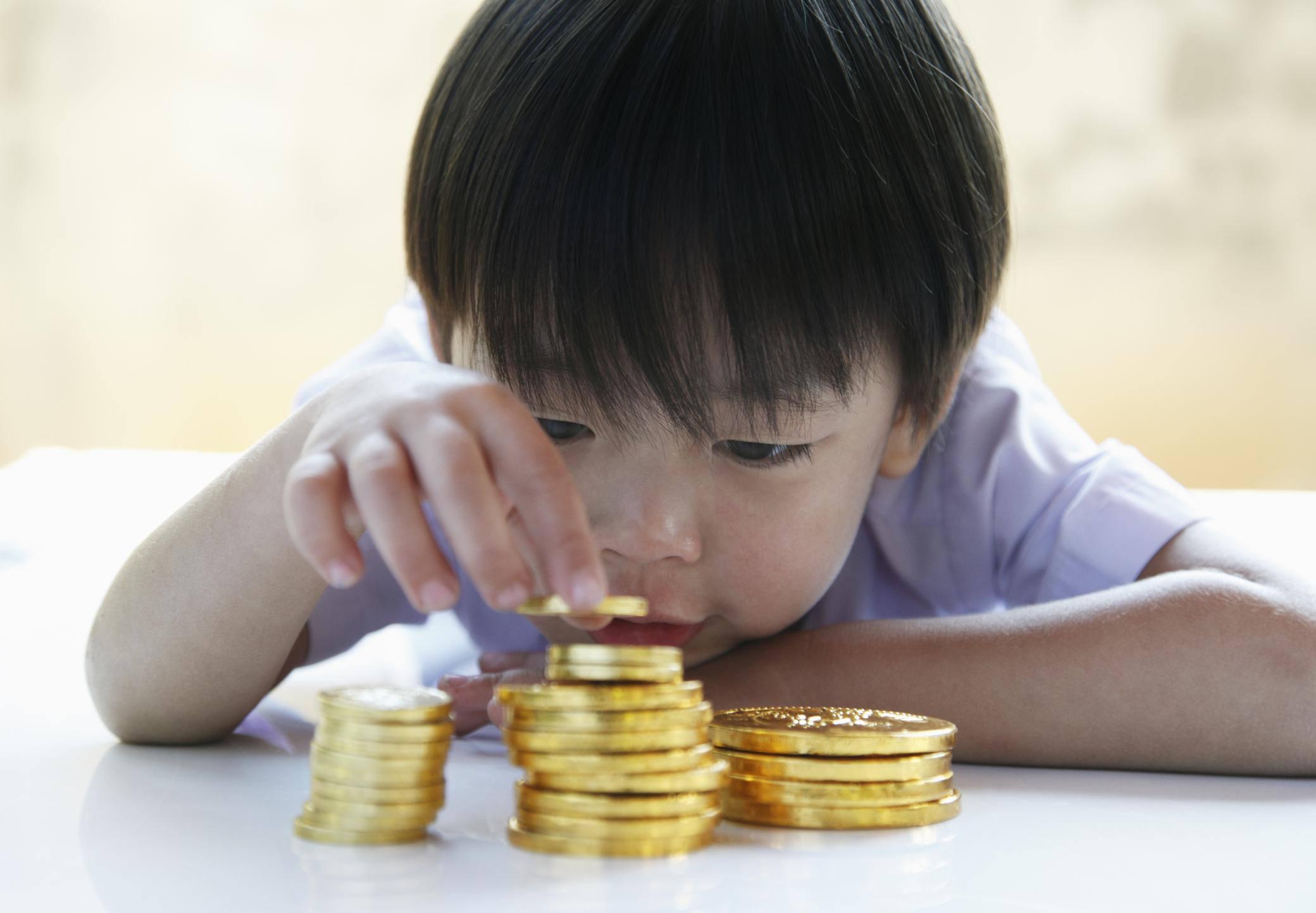 Reward your child's good behavior with tokens.