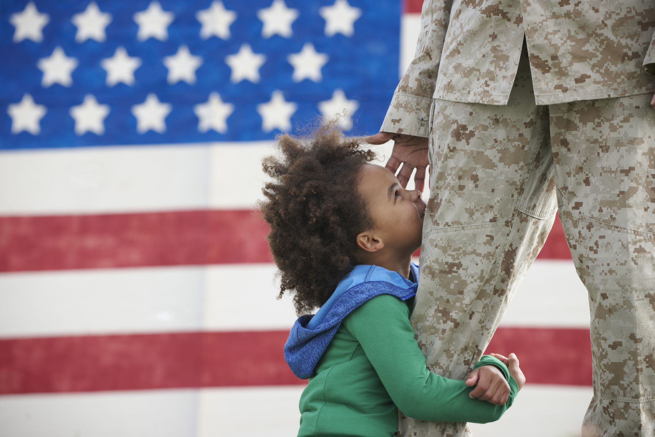 What to Expect From a Child Who Has a Parent Who Is Deployed