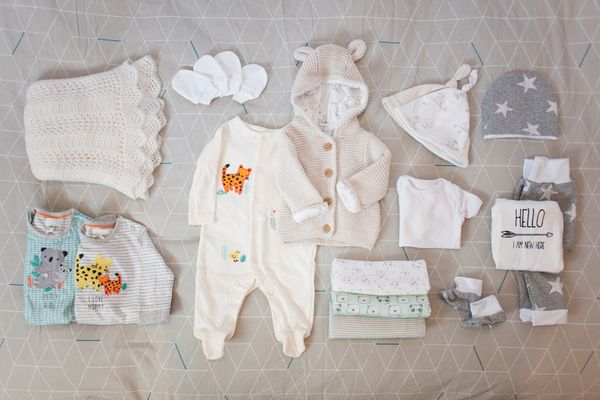 Baby clothes.