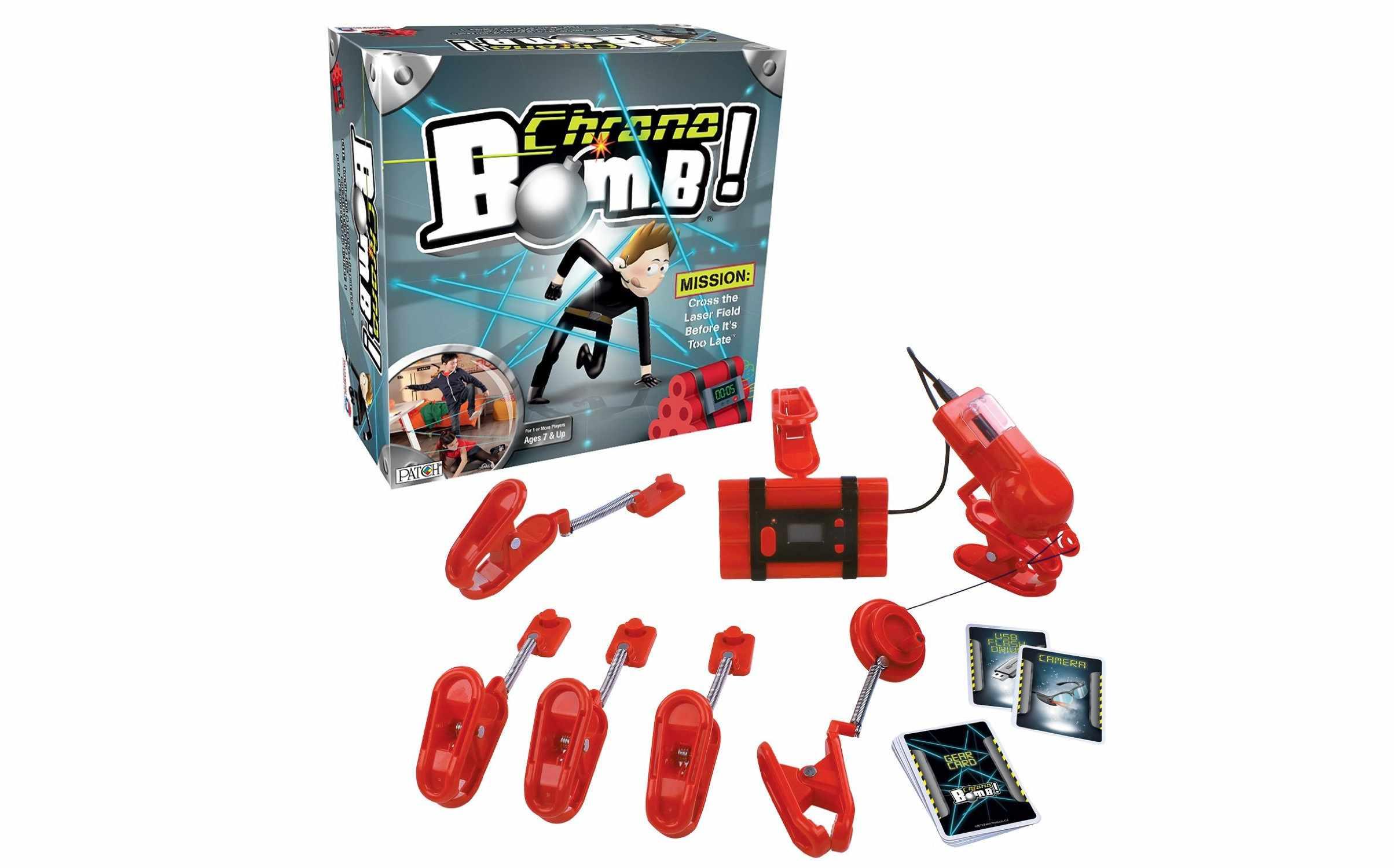 School-age toy: Chrono Bomb spy action game