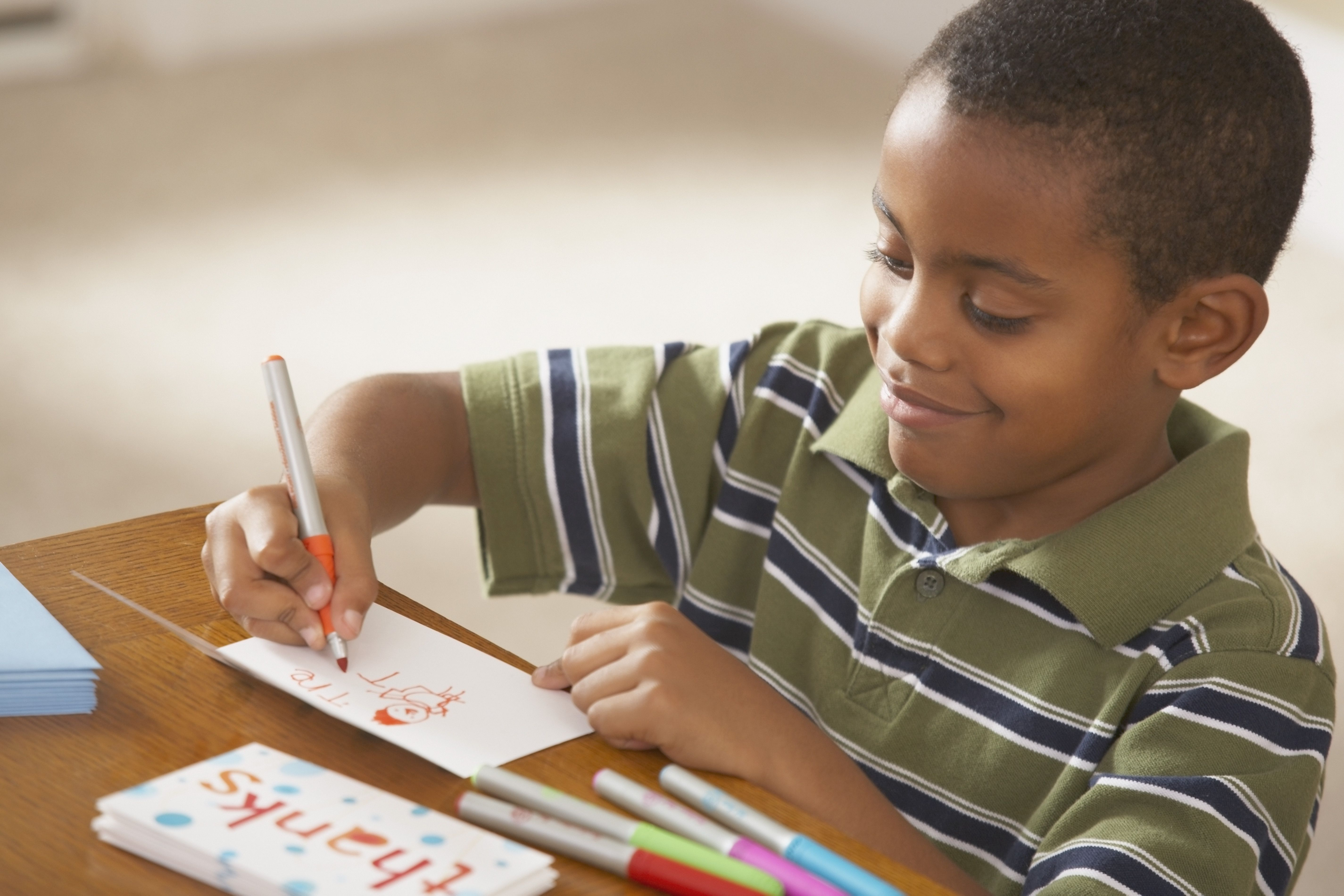5 Ways to Encourage Your Kids to Send Thank You Notes
