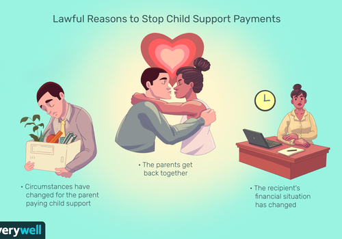 Lawful reasons to stop child support payments