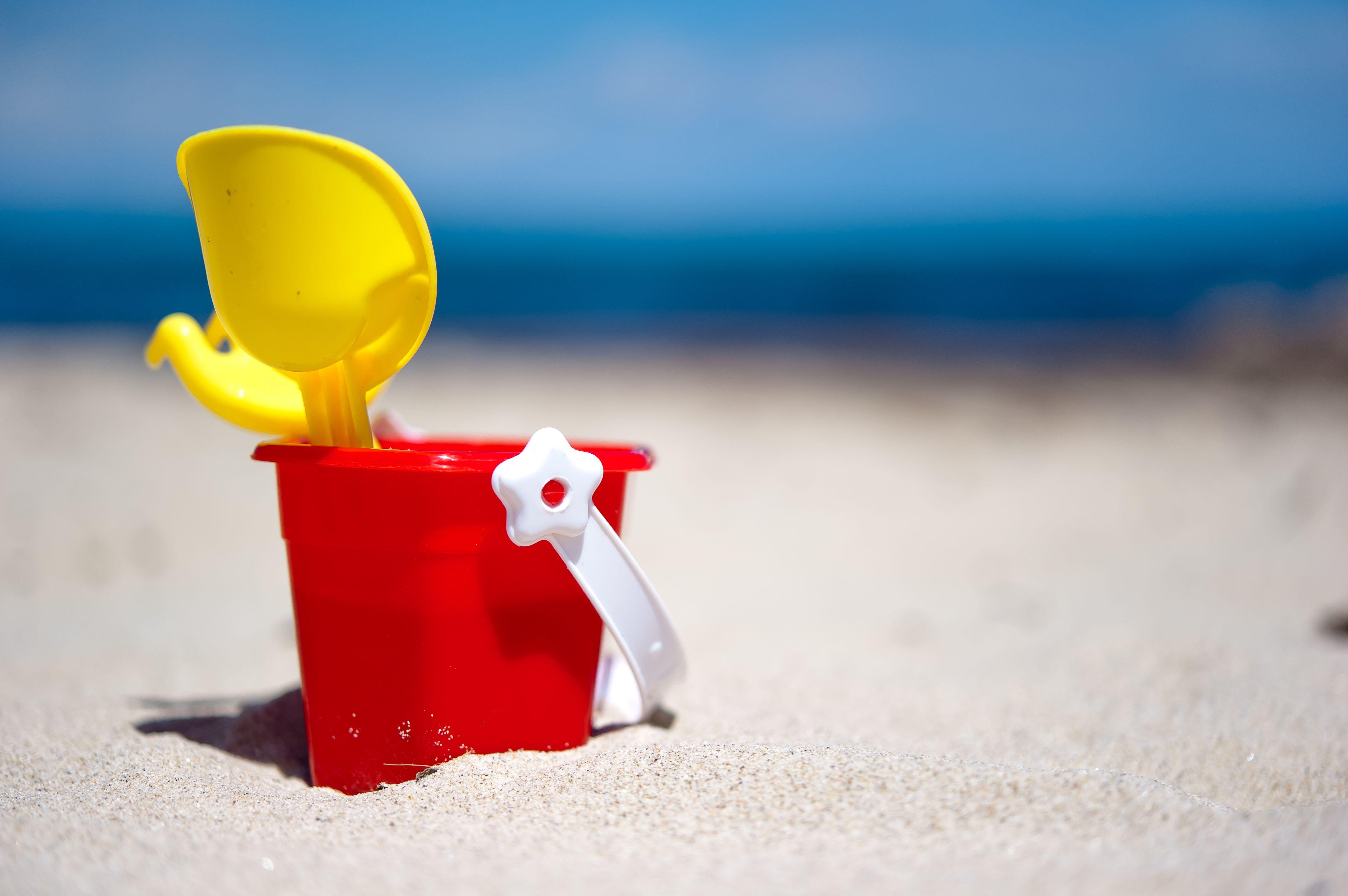 Beach Pail Goodie Bag