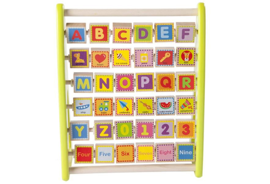 Fat Brain Toys Alpha Abacus