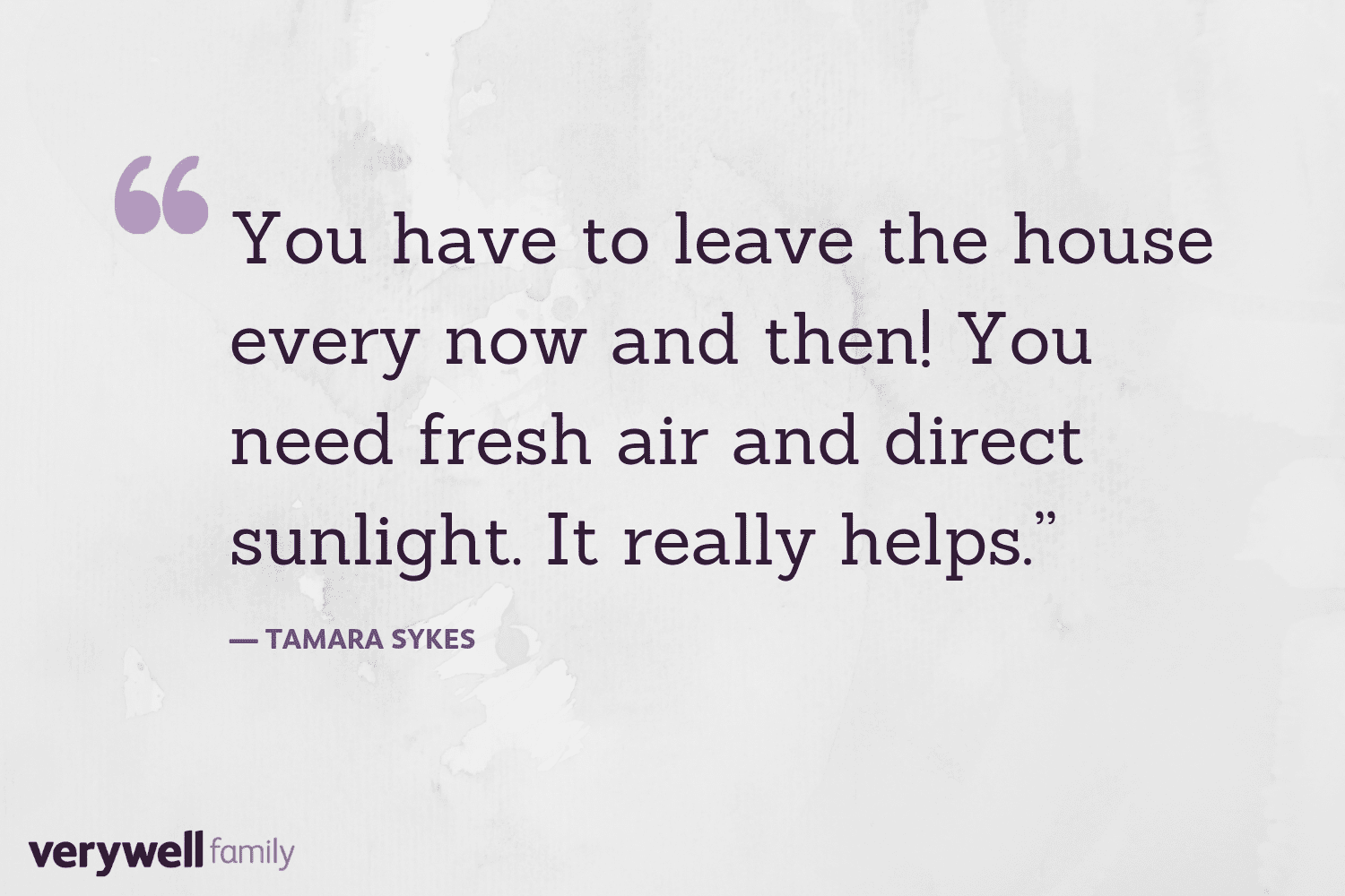 Verywell Family postpartum quote by Tamara Sykes