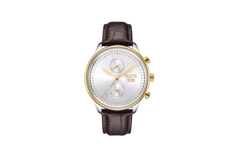 Talley & Twine Silver and Gold Watch