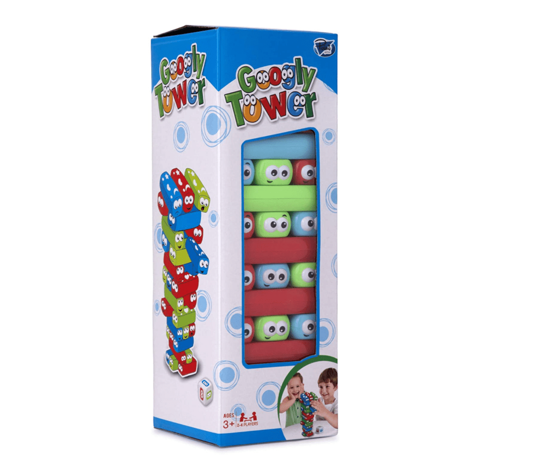 Point Games Googly Tower Stacking Game
