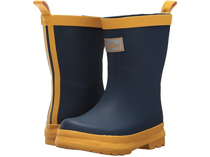 Hatley Kids Matte Color Block Rain Boots