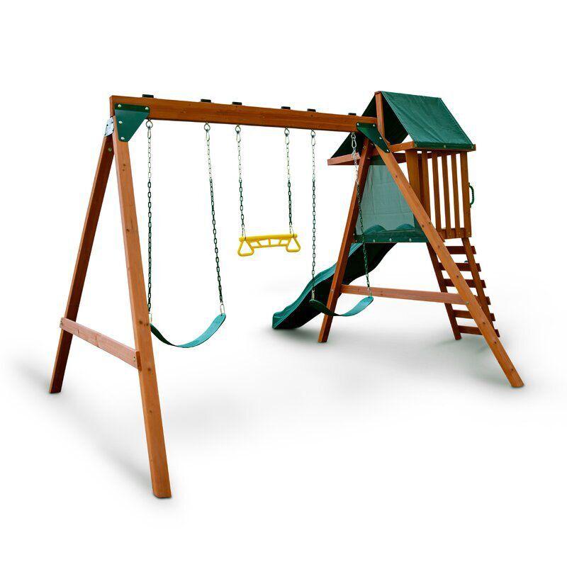 Swing-N-Slide Ranger Plus Wooden Swing Set