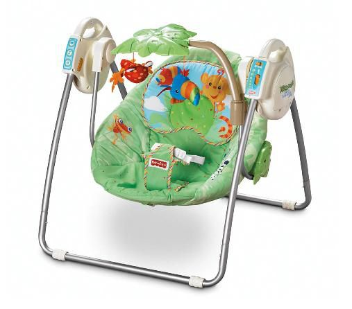 This infant swing was recalled in 2007 by the CPSC.