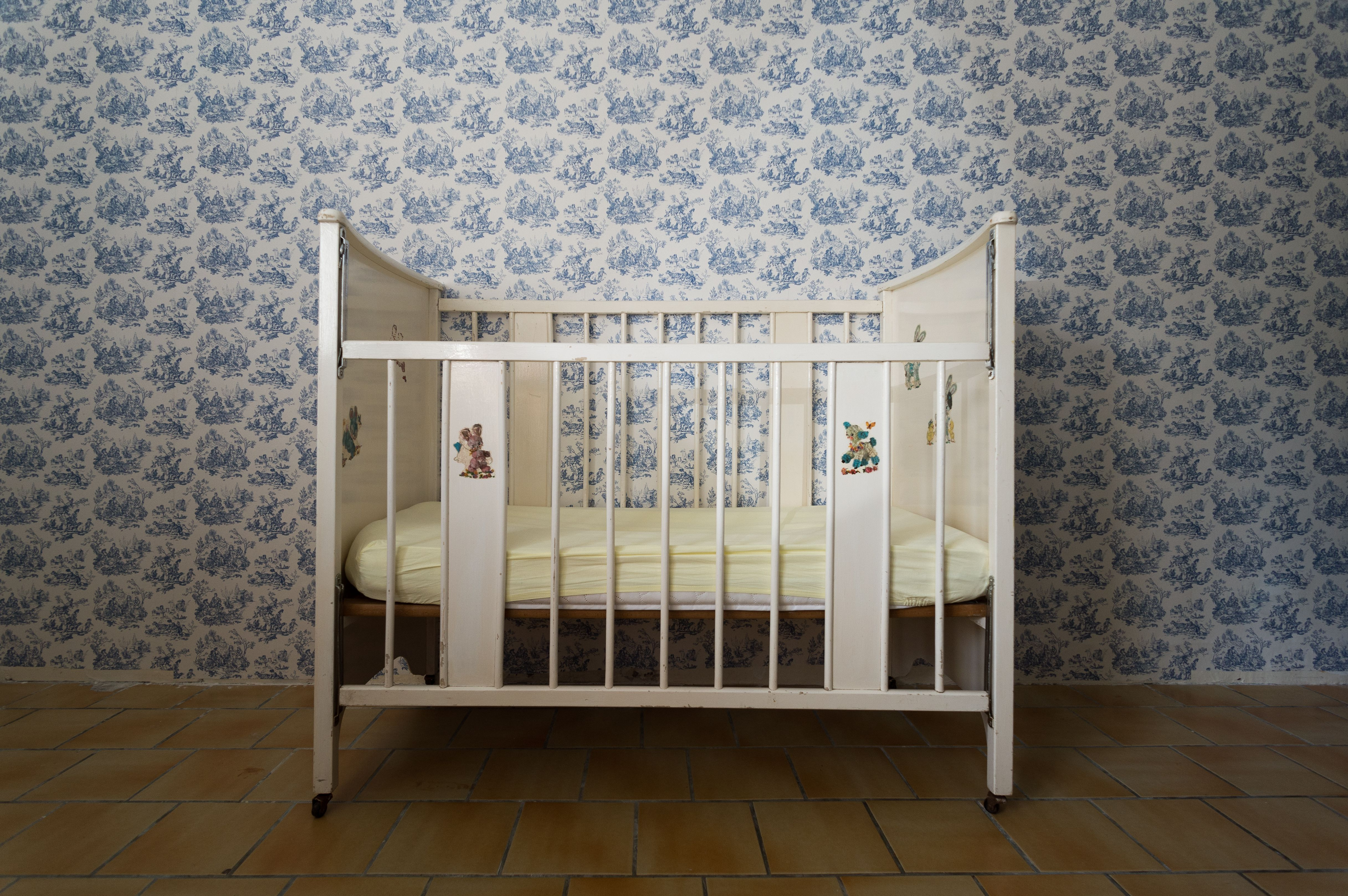 Crib In Childrens Room