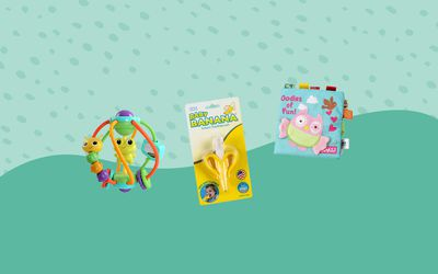 Best Toys for 4-Month-Olds