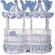 Duetta Crib Mate Round Crib for Twins.