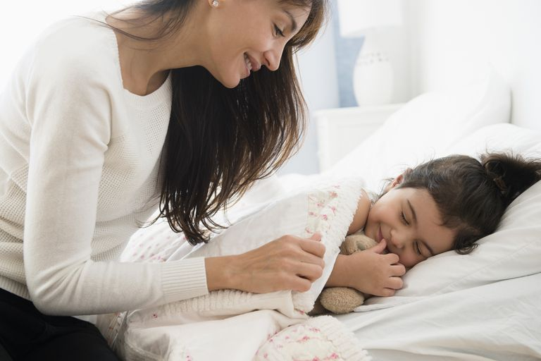 A good bedtime routine can help children sleep