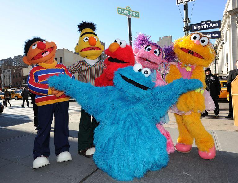 Sesame street live cast