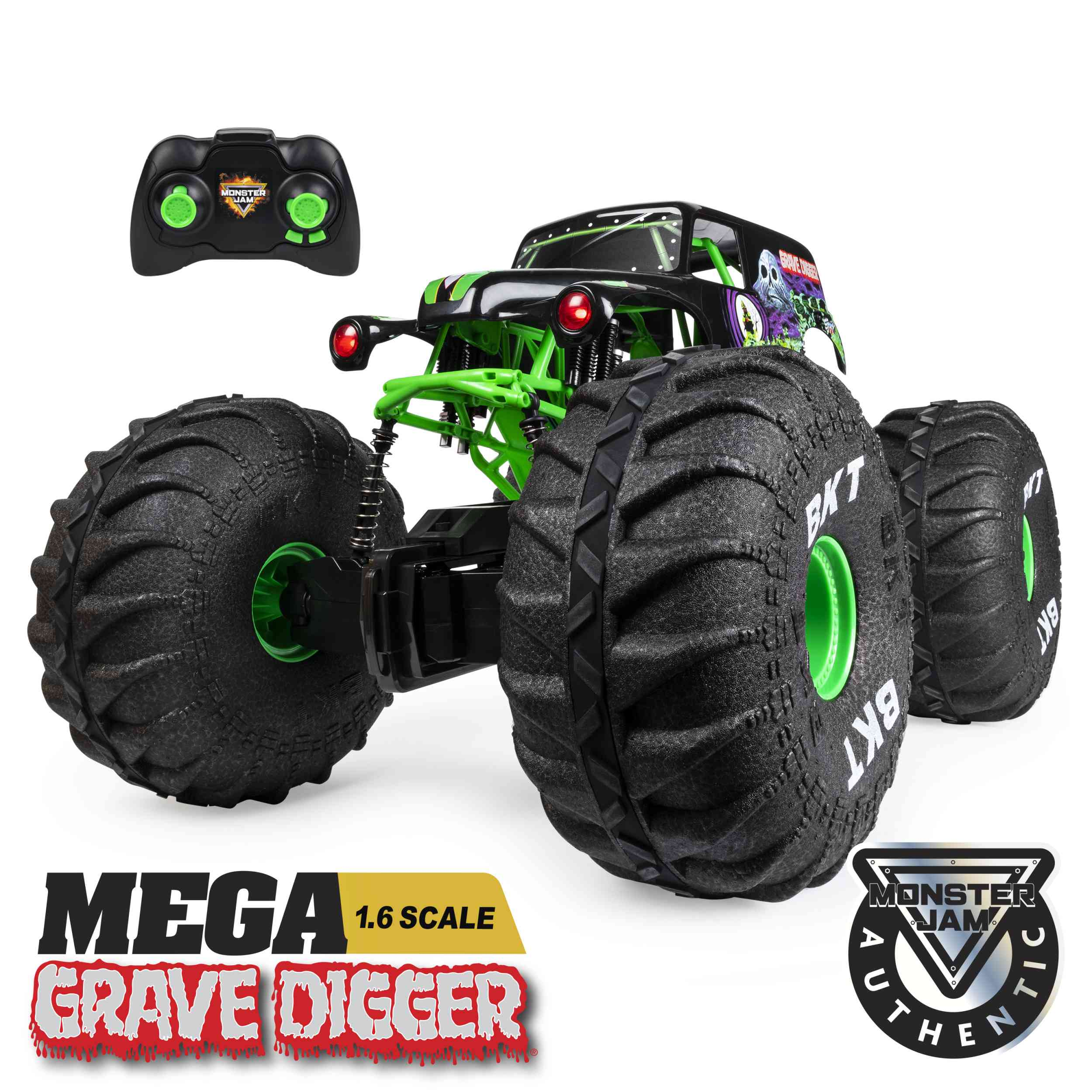 Grave Digger All-Terrain Monster Truck